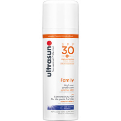 Ultrasun Family SPF 30 Super Sensitive (150ml) and Ultrasun Aftersun