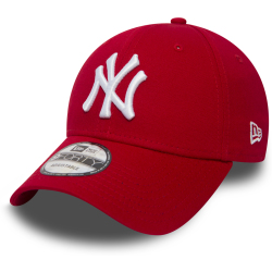 New Era MLB 9FORTY New York Yankees Cap Red