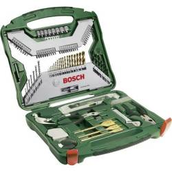 Bosch Accessories 2607019331 X Line TiN 103 piece Universal drill bit set