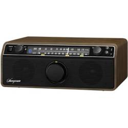 Sangean WR 12 BT Walnuss FM AUX Bluetooth Wood
