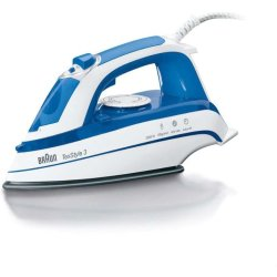 Braun TexStyle 3 Steam Iron TS355A Blue (200V 240V)