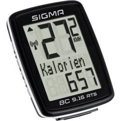 Sigma BC 9.16 ATS Bike computer (cordless) Coded transmission wheel sensor