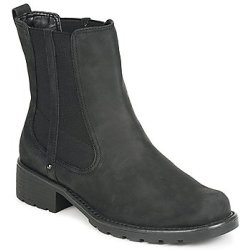 Clarks ORINOCO CLUB women's Low Ankle Boots in Black