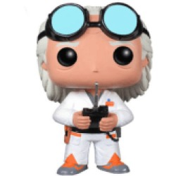 Back to the Future Doc Brown Pop Vinyl Figure