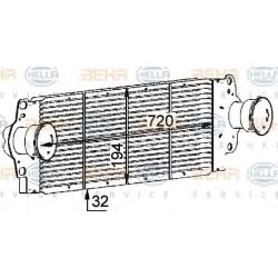 Air Conditioning Heat Exchanger 8ML376723 511 by Hella