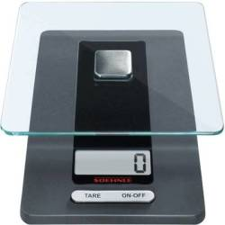 Soehnle KWD Fiesta Digital kitchen scales Weight range 5 kg Black