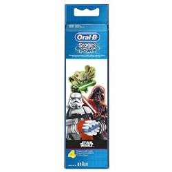 Oral B Stages Power Star Wars 4 Refill Heads