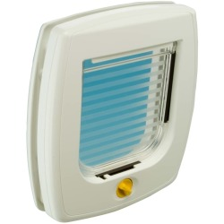 Ferplast 4 Way Manual Cat Flap Swing 3B White 72102011
