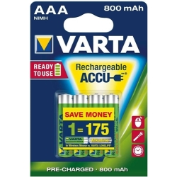 Varta Ready2Use HR03 AAA battery (rechargeable) NiMH 800 mAh 1.2 V 4 pc(s)