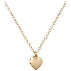 Ladies Ted Baker PVD Gold plated Hara Tiny Heart Pendant Necklace TBJ1145 02 03