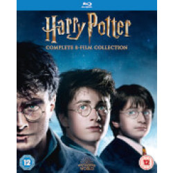 Harry Potter Complete 8 Film Collection (2016 Edition) Blu ray