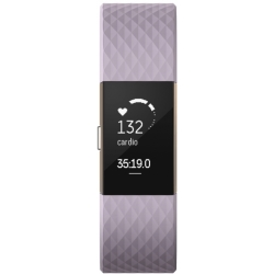 Unisex Fitbit Charge 2 Special Edition Bluetooth Fitness Activity Tracker Watch FB407RGLVL EU