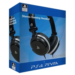 4Gamers Stereo Gaming Headset Dual Format PS4 PS Vita