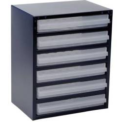 raaco 250 6 3 Small parts container (W x H x D) 357 x 435 x 255 mm No. of compartments 6