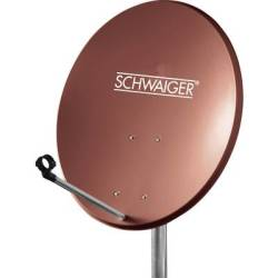 Schwaiger SPI550.2 Satellite Dish Brick red