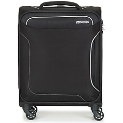 American Tourister HOLIDAY HEAT 55CM 4R women's Soft Suitcase in Black