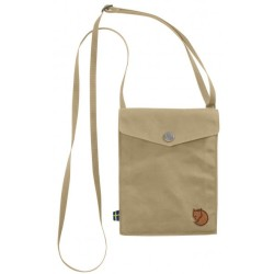 Fjällräven Pocket Shoulder bag size One Size sand grey