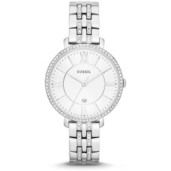 Fossil Women Jacqueline Stainless Steel Watch Silver One size