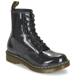 Dr. Martens Women's 1460 Patent Lamper 8 Eye Boots Black UK 8
