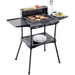 Unold Vario 58565 Electric Electric grill with manual temperature settings Black