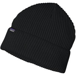 Patagonia Fishermans Rolled Beanie black