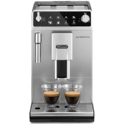 DELONGHI Autentica ETAM 29.510.SB Bean to Cup Coffee Machine Silver Black Silver