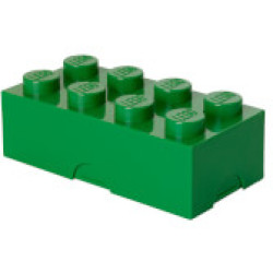 LEGO Lunch Box Dark Green