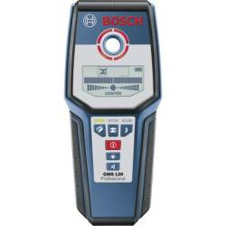 Bosch Professional Detector GMS 120 0601081000 Locating depth (max.) 120 mm Suitable for Wood Ferrous metal Non ferrous metal Live wires