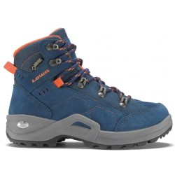Lowa Kody III GTX Mid Junior Walking boots size 28 blue grey