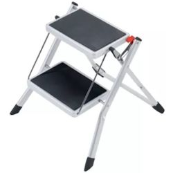 Hailo Stepladder with 2 Steps Mini 45 cm Steel 4310 001