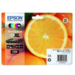 Epson 33XL Multipack Ink Cartridge C13T33574010 5 Colours
