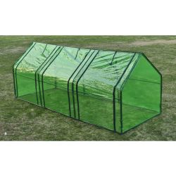 vidaXL Greenhouse with 3 Doors