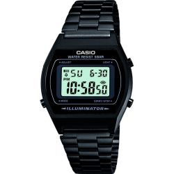 Quartz Wristwatch B640WB 1AEF (L x W x H) 38.9 x 35 x 9.4 mm Black Enclosure material Resin Material (watch strap) Stainless steel Casio