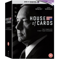 House of Cards (S1 S4) (DVD)