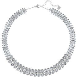 Baron Necklace Blue Rhodium plated