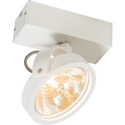 Modern Adjustable Spotlight 1 White incl. LED G9 Go