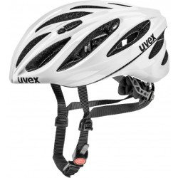 Uvex Boss Race Bike helmet size 52 56 cm grey black white