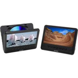 Denver MWT 756 TWIN NB Headrest DVD player 2 monitors Screen size diagonal 17.8 cm (7 inch)