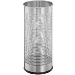 Durable Umbrella stand 335023 3350 (Ø x H) 260 mm x 620 mm Metal (epoxy coated) Silver 1 pc(s)