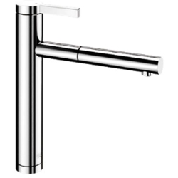 Blanco LINEE S CHROME Linee S Single Lever Pull Out Spray Tap 517591 CHROME