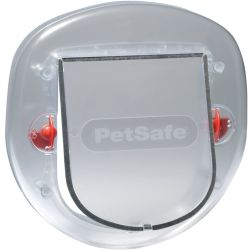 PetSafe 4 Way Pet Flap 270 Frosted 5000