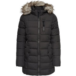ONLY Nylon Quilted Jacket Women Black