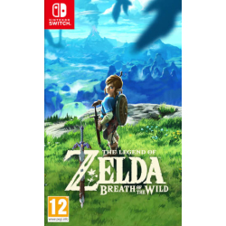 The Legend Of Zelda Breath Of The Wild Nintendo Switch Game