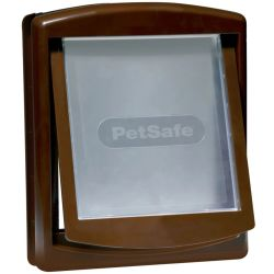 PetSafe 2 Way Pet Door 755 Medium 26.7x22.8 cm Brown 5021
