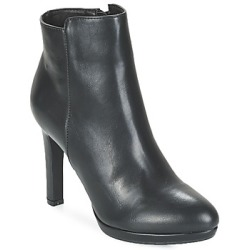 Buffalo YNOUM women's Low Ankle Boots in Black