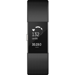 Unisex Fitbit Charge 2 Bluetooth Fitness Activity Tracker Watch FB407SBKS EU