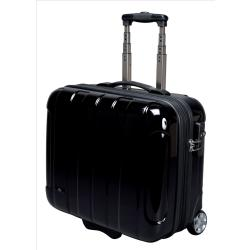 JSA Business Trolley ABS Polycarbonate with Removable Laptop Case