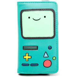 ADVENTURE TIME BMO Envelope Purse Wallet Female Turquoise...