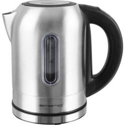 EMERIO WK 108054 Kettle cordless Stainless steel Black