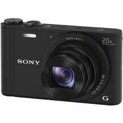 SONY Cyber shot DSC WX350B Superzoom Compact Camera Black Black